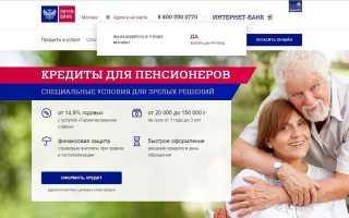 Как получить кредит почта банк – все требования и документы